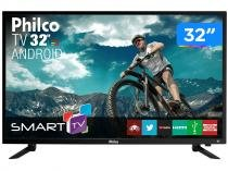 "Smart TV LED 32"" Philco PTV32N87SA Android - Wi-Fi 2HDMI 2USB"