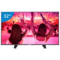 "Smart TV LED 32"" Philips 32PHG5201 - Conversor Digital Wi-Fi 3 HDMI 1 USB DTVi"