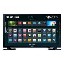 Smart TV LED 32 Samsung UN32J4300 Flat HD Series 4 - Wi-Fi, HDMI, USB - Samsung