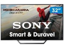 "Smart TV LED 32"" Sony KDL-32W655D - Conversor Digital Wi-Fi 2 HDMI 2 USB DLNA"