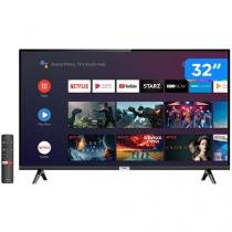 "Smart TV LED 32"" TCL 32S6500 Android Wi-Fi HDR - Inteligência Artificial 2 HDMI USB"