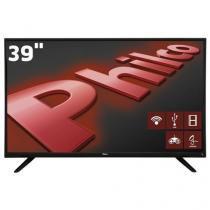"Smart TV LED 39"" HD Philco PH39E60DSGWA com Wi-Fi,ApToide,Som Surround,MidiaCast,EntradasHDMI e USB -"