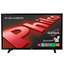 "Smart TV LED 40"" Android Full HD Preta Philco - Philco"