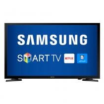 Smart TV LED 40 Full HD Samsung LH40RBHBBBG/ZD 2 HDMI USB Wi-Fi Integrado Conversor Digital -