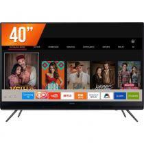 "Smart TV LED 40"" Full HD Samsung UN40K5300AGXZD 2 HDMI 1 USB Wi-Fi Integrado Conversor Digital -"