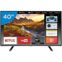 "Smart TV LED 40"" Panasonic Full HD - TC-40DS600B Conversor Digital Wi-Fi 2 HDMI 1 USB"