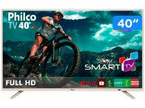 "Smart TV LED 40"" Philco Full HD PTV40E21DSWNC - Wi-Fi 2 HDMI 2 USB"