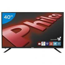 "Smart TV LED 40"" Philco PH40U21DSGW - Conversor Digital 3 HDMI 1 USB"