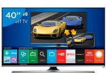 "Smart TV LED 40"" Samsung Full HD Gamer UN40J5500 Conversor Digital Wi-Fi 3 HDMI 2 USB"