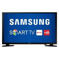 "Smart TV LED 40"" Samsung UN40J5200AGXZD Full HD com Wi-Fi 1 USB 2 HDMI e Screen Mirroring -"