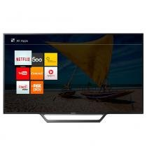 "Smart TV LED 40"" Sony KDL-40W655D Full HD com Wi-Fi 2 USB 2 HDMI Motinflow 240 e X-Reality PRO -"