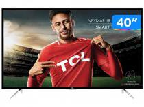 "Smart TV LED 40"" TCL Full HD L40S4900FS Conversor Digital Wi-Fi 3 HDMI 2 USB DTVi"