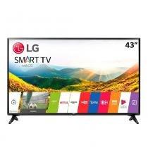 """Smart TV LED 43"""" 43LJ551C Full HD Com Wi-Fi, USB, 2 HDMI, Modo Hotel e 60Hz - Lg"""