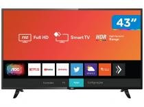 "Smart TV LED 43"" AOC 43S5295/78G Full HD Wi-Fi - 43S5295/78G HDR Conversor Digital 3 HDMI 2 USB"