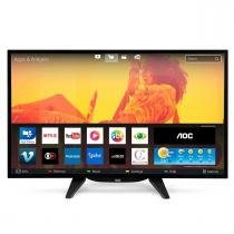 "Smart TV LED 43"" Full HD DTV HDMI e USB AOC LE43S5760 - AOC"