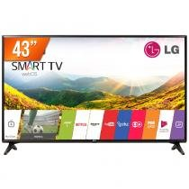 Smart TV LED 43 Full HD LG PRO 43LJ551C 2 HDMI USB Wi-Fi Integrado Conversor Digital -