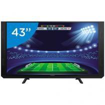 "Smart TV LED 43"" Panasonic Full HD TC-43SV700B - Conversor Digital Wi-Fi 3 HDMI 2 USB Soundbar"