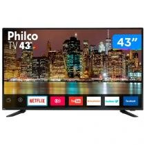 "Smart TV LED 43"" Philco PTV43E60SN Full HD - Conversor Digital Wi-Fi 3 HDMI 2 USB"