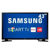 "Smart TV LED 43"" Samsung UN43J5200, Full HD, ConnectShare Movie, Wi-Fi, 2 HDMI, 1 USB - Samsung"