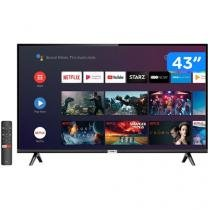 "Smart TV LED 43"" TCL 43S6500 Full HD - Android Wi-Fi Conversor Digital 2 HDMI 1 USB"