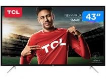 "Smart TV LED 43"" TCL Full HD  - L43S4900FS Conversor Digital Wi-Fi 3 HDMI 2 USB"