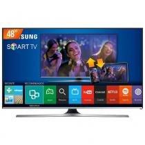 "Smart TV LED 48"" Samsung Full HD 3 HDMI Série 5 Wi-Fi Integrado UN48J5500AGXZD - Samsung"