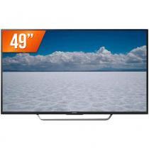 "Smart TV LED 49"" 4K Sony KD-49X7005D 4 HDMI 3 USB Wi-Fi Integrado Conversor Digital -"