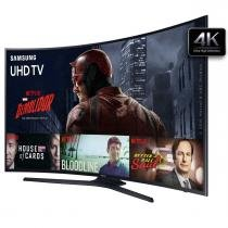 "Smart TV LED 49"" Curva 4K Ultra-HD Samsung UN49KU6300GX - Samsung"