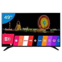 "Smart TV LED 49"" LG Full HD 49LH6000 WebOs - Conversor Digital Wi-Fi 3 HDMI 2 USB"