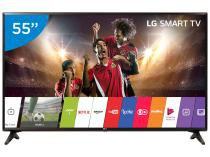 "Smart TV LED 49"" LG Full HD 49LJ5550 WebOS Conversor Digital Wi-Fi 2 HDMI 1 USB"