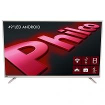 "Smart TV LED 49"" Philco Backlight D-LED - PH49F30DSGWAC Conversor Digital 2 USB 2 HDMI"