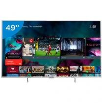 "Smart TV LED 49"" Philips 4K/Ultra HD 49PUG6801/78 - Conversor Digital Wi-Fi 4 HDMI 3 USB DTVi"