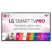 Smart TV LED 49 Polegadas LG 49LJ551C FULL HD 2 HDMI WIFI USB Sem Base -