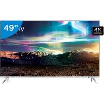 "Smart TV LED 49"" Samsung 4K Ultra HD - 49KS7000 Conversor Digital 4 HDMI 3 USB"