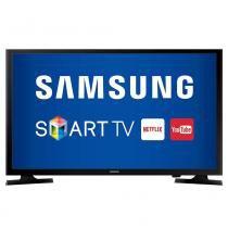 """Smart TV LED 49"""" Samsung UN49J5200 Full HD, Wi-Fi, 120Hz, 1 USB, 2 HDMI -"""