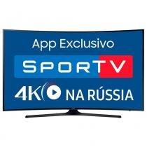 """Smart TV LED 49"""" Samsung UN49MU6300 4K Ultra HD HDR, Wi-Fi, 120Hz, 2 USB, 3 HDMI -"""