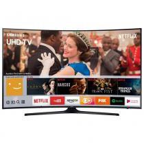 "Smart TV LED 49"" Samsung UN49MU6300 Tela Curva 4K Ultra HD HDR Wi-Fi 2 USB 3 HDMI e 120Hz -"