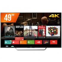 "Smart TV LED 49"" Sony 4K 4 HDMI 3 USB Wi-Fi Conversor Digital KD-49X7005D - Sony"