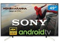 "Smart TV LED 49"" Sony 4K/Ultra HD KD-49X755F - Android Conversor Digital Wi-Fi 4 HDMI 3 USB"