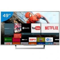 "Smart TV LED 49"" Sony 4K/Ultra HD XBR-49X835D - Conversor Digital Wi-Fi 4 HDMI 3 USB"