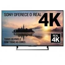 Smart TV LED 49 Sony KD-49X705E, 4K, USB, HDMI, Wi-Fi -