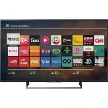 "Smart TV Led 49"" Sony KD-49X705E Ultra HD 4K Conversor Digital Integrado 3 HDMI 3 USB Wi-Fi -"