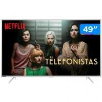 """Smart TV LED 49"""" Toshiba 4K/Ultra HD U7800 - Conversor Digital Wi-Fi 3 HDMI 2 USB DLNA"""