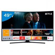 "Smart TV Led 4K 49"" 49MU6300 Wi-fi Curva Samsung - Samsung"