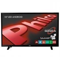 "Smart TV LED 55"" Full HD Android com USB/HDMI Philco -"