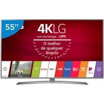 "Smart TV LED 55"" LG 4K/Ultra HD 55UJ6585 webOS - Conversor Digital 2 USB 4 HDMI"