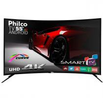 "Smart TV LED 55"" PH55A16DSGWA Curve 4K Philco -"