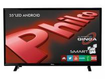 "Smart TV LED 55"" Philco Backlight D-LED  - PH55E20DSGWA Conversor Digital 2 USB 3 HDMI"