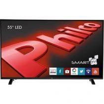 Smart TV LED 55 Philco PH55E30DSGW Full HD com Conversor Digital 3 HDMI 1 USB Wi-Fi 60Hz -
