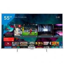 "Smart TV LED 55"" Philips 4K/Ultra HD 55PUG6801/78 - Conversor Digital Wi-Fi 4 HDMI 3 USB DTVi"